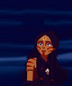 Avatar: The Last Airbender: Katara as the Painted Lady...
