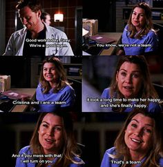 "And will have your back. | What It Is Like To Have Met ""Your Person,"" As Told By ""Grey's Anatomy"""