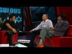 Bill Maher<3 and Larry Charles on The Hour with Strombo.