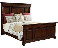 Wheatmore Manor Panel Bed - Beds - Bedroom
