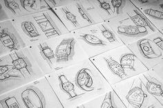 Sketches par Paulin GIret