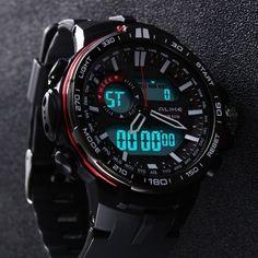 Mens Sport Watches, Luxury Watches For Men, Casual Watches, Cool Watches, Elegant Watches, Beautiful Watches, Casio Protrek, Swiss Army Watches, Ootd