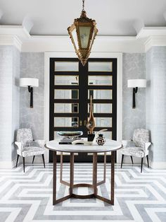 What the Gossip Girl Interiors Would Look Like Today via @MyDomaine. photo: Courtesy of Jean-Louis Deniot