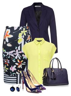 Work by fiona-ross on Polyvore featuring polyvore, fashion, style, Dorothy Perkins, Mexx Metropolitan, Clover Canyon, Christian Louboutin, Tory Burch and Ralph Lauren