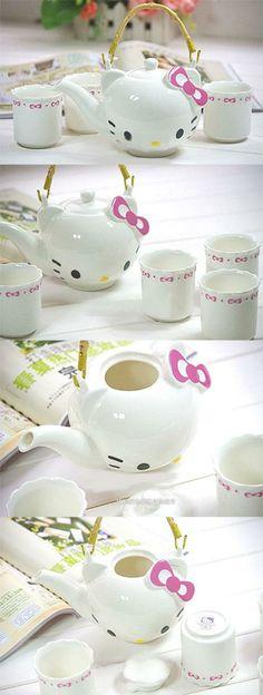 Hello Kitty Tea Set - must have!