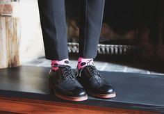When you walk in NY you need a pair of comfy shoes. Stylish like this lace ups. #pennyblack #coollaceups