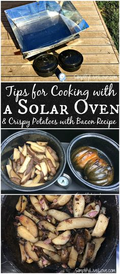 9e8d95194d3 Tips for cooking with a  solar+oven and a recipe for crispy potatoes with