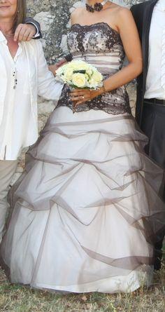 vends robe de marie modle chlo de point mariage taille 38 vendu avec voile et - Point Mariage La Rochelle