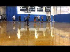 Crazy Dodgeball Ninja Move! - YouTube