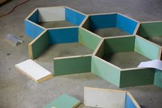 DIY: Honeycomb Shelves — Arrow & Apple