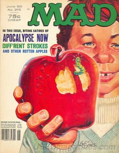 Oh boy...very first purchased MAD magazine! Apparently I came into approximately two whole dollars...quite the windfall (first MAD plus first Consumer Reports...75 cents and 1.25 respectively if I'm not mistaken).