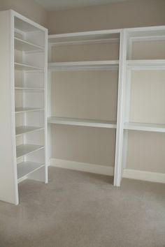 shelves, shoe rack, drawers for accessories, hang clothes, etc