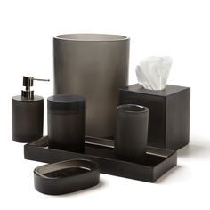 Waterworks Studio Oxygen Bath Accessories, Habitat Gray | Bloomingdale's