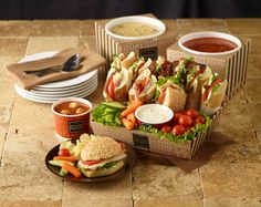 The possibilities and menu combinations are endless!  Make each catering moment special with products from LBP