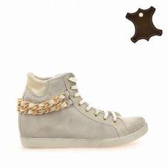 Промо Кожа :: Дамски обувки от естествена кожа Wedges, Sneakers, Shoes, Fashion, Tennis, Moda, Slippers, Zapatos, Shoes Outlet