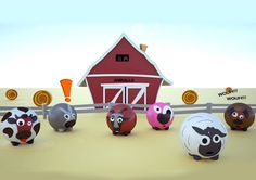 Aniballs - a new creative golf balls | 1 Design Per Day