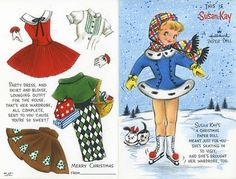 THE SEWING DORK: Printable Vintage Paper Doll Goldmine
