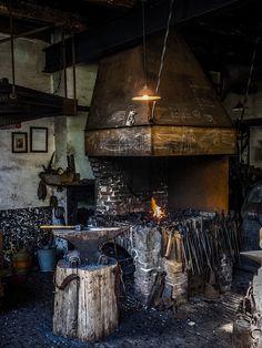 The Blacksmith forge