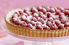 Raspberry and Vanilla Custard Tart. (Photo from http://www.herdaily.com/recipes/2306/too-good-raspberry-custard-tart.html)
