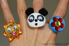 Easy Button Rings craft