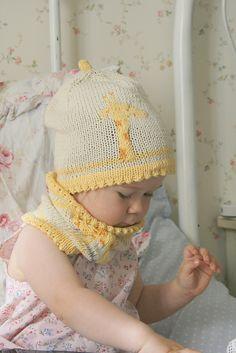 Ravelry: Giraffe hat and cowl set pattern by Muki Crafts
