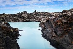 We could stare at this photo all day. #BlueLagoon #Iceland - photo by @dtillinghast