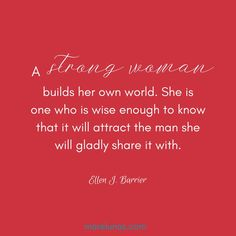 A strong #woman builds her own world. #beauty #quote #beautyquotes #handmade #confidence #selfacceptance #selfesteem #MUA