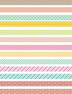 Items similar to PRINTABLE bullet journal stickers, Pastel Washi Tape, Printable Planner Stickers,Washi Printable Planner Supplies, Printable Planner on Etsy Journal Stickers, Printable Planner Stickers, Scrapbook Stickers, Printables, Scrapbook Cards, Washi Tape Planner, Washi Tape Diy, Washi Tapes, Duct Tape