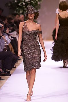 Balmain | Spring 2001 Couture Collection | Style.com