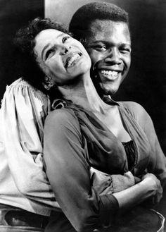 Dorothy Dandridge & Sidney Poitier