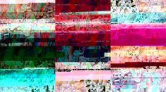 grids on tinier grids, previously randomly arranged #glitchart