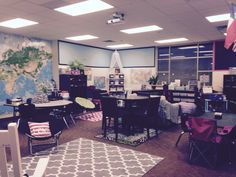 Flexible seating in Fourth Grade