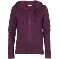ONLY Portland Zip Hood Sweat Jdy ($22) ❤ liked on Polyvore featuring tops, hoodies, sweatshirts, hoodies and sweatshirts, jackets, fig, purple hoodie, zipper hoodie sweatshirt, zipper hoodies and hoodie sweatshirts