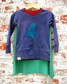 DIY SHIRT : DIY Upcycled Superhero T-shirt Cape