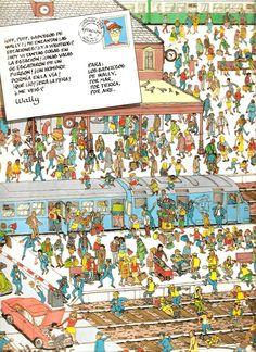 El primer libro de Wally completo: ¿Dónde está Wally? Wheres Waldo, Book, Wheres Wally