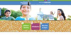 #sesamewebdesign #psds #pediatric #dental #responsive #pattern #whimsical #blue #green #purple #sticky #sans #whimsical #topnav #top-nav #full-width #fullwidth