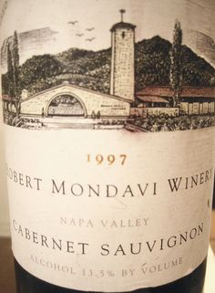 1997 Robert Mondavi Napa Valley Cabernet Sauvignon