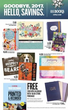 Half Price Books Black Friday 2018 Ads and Deals Browse the Half Price Books Black Friday 2018 ad scan and the complete product by product sales listing. Calendar Pad, Black Friday 2017 Ads, Price Book, Half Price, Used Books, Coupons, Entertainment, Coupon