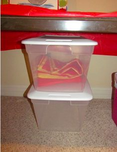 After I finish using the sensory table, I slide it under this table for another day… I usually rotate between water and dry sensory play . Teaching Activities, Educational Activities, Teach Preschool, Sensory Table, Sensory Play, Teaching Positions, Preschool Programs, Teacher Tools, Toddler Fun