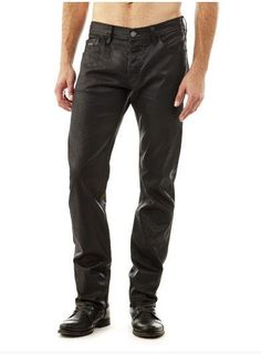 Jeans homme Guess, craquez sur le Jean classique effet enduit Guess prix promo GUESS 109.99 €