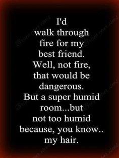 Hahaha! But really, fire:)