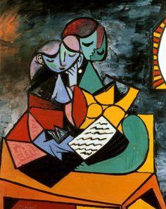 La Lección #Saber #Picasso #1934