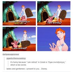 Clever Disney.