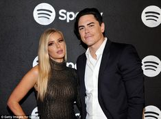In the works: Tom Sandoval and girlfriend Adriana Madix (above last week) will be releasing a cocktail book together