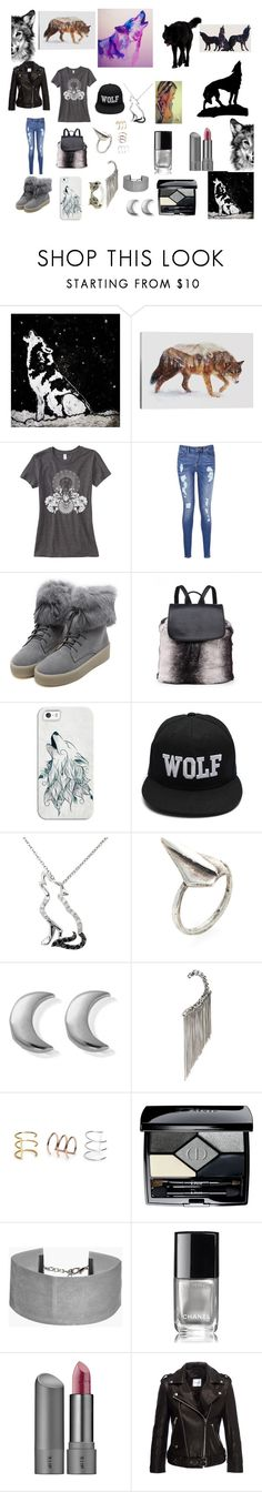"""""""By the Howling Moon"""" by countrycowgirl-1718 on Polyvore featuring iCanvas, Tommy Hilfiger, WithChic, Casetify, Malin + Mila, Lauren Wolf, ChloBo, Emanuele Bicocchi, Bing Bang and Christian Dior"""