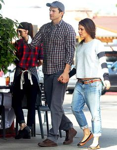 Ashton Kutcher and Mila Kunis in Beverly Hills on March 7, 2014