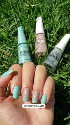 Stylish Nails, Beauty Hacks, Nail Designs, Hair Beauty, Make Up, Nail Art, Manicures, Round Wire Nails, Bling Nails