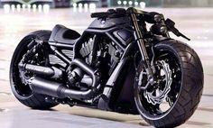 Motor bike black gun