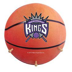 Sacramento Kings Basketball Coat Hanger, Multicolor