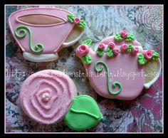 <3 Royal Icing Cookies, Cupcake Cookies, Sugar Cookies, Cupcakes, Biscotti, Teapot Cookies, White Cakes, Cake Board, Cut Out Cookies